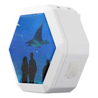 Klantgerichte spreker witte bluetooth speaker