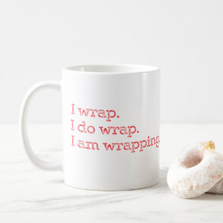 KLANTGERICHTE Tegenwoordige tijd Giftwrapping Koffiemok