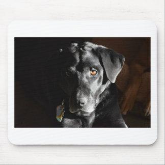 Klantgerichte Zwarte Labrador Muismat