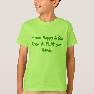 Klap uw Handen - de Diversiteit van het Autisme T Shirt