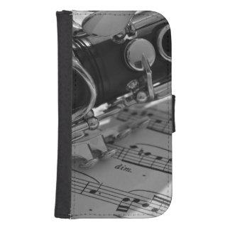 Klarinet Galaxy S4 Portefeuille Hoesje