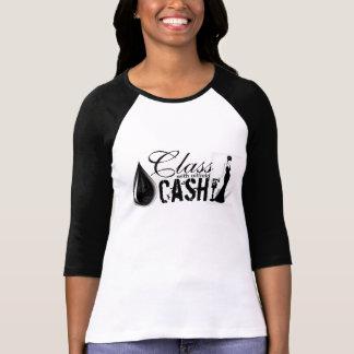 KLASSE met het CONTANTE GELD van het Olieveld T Shirt