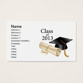 Klasse van 2013 visitekaartjes