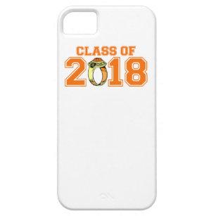 Klasse van 2018 (de Oranje Ring van de Klasse) Barely There iPhone 5 Hoesje
