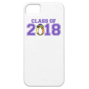Klasse van 2018 (de Purpere Ring van de Klasse) Barely There iPhone 5 Hoesje