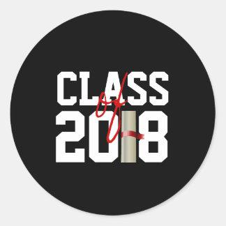 KLASSE van 2018 Stickers