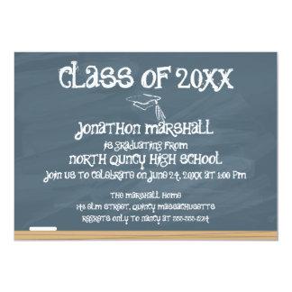 Klasse van 20xx - Bord 12,7x17,8 Uitnodiging Kaart