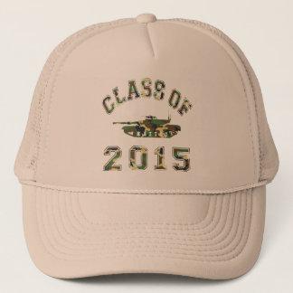 Klasse van de Militaire School van 2015 - Camo 2 Trucker Pet