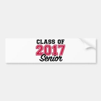 Klasse van de Oudste van 2017 Bumpersticker