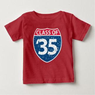 Klasse van de T-shirt van het Baby van 2035