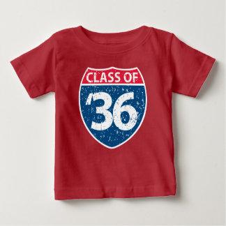 Klasse van de T-shirt van het Baby van 2036