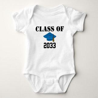 Klasse van: Het Overhemd van het Afstudeerder van Romper