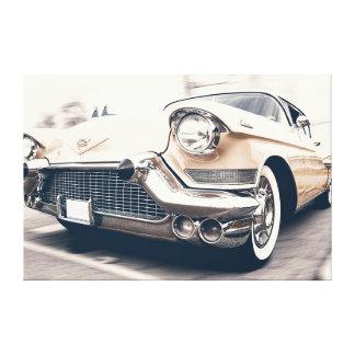 Klassiek Antiek Automobiel Auto Verpakt Canvas