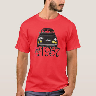 Klassiek Fiat 500 t-shirt