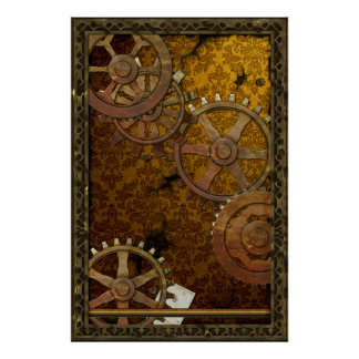 Klassiek Poster Steampunk