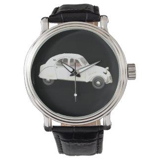 Klassiek Wit Citroën 2CV Horloges