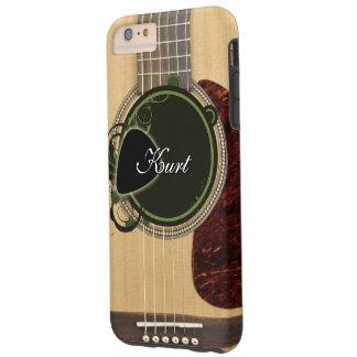 Klassieke Akoestische Gitaar met de naam van het Tough iPhone 6 Plus Hoesje