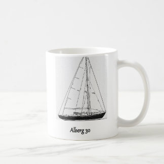 Klassieke Alberg 30 Jacht Koffiemok