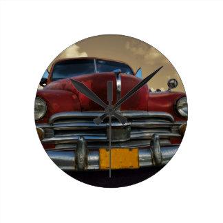 Klassieke Amerikaanse auto in Vinales, Cuba Ronde Klok