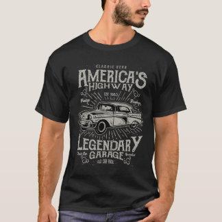 Klassieke Amerikaanse de Weg van Hotrod van de T Shirt