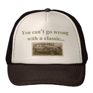 klassieke auto trucker cap