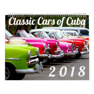 Klassieke Auto's van Cuba Kalender