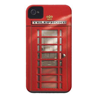 Klassieke Britse Rode iPhone 4 van de Telefooncel