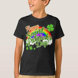 Klassieke Gelukkige St. Patrick Dag T Shirt