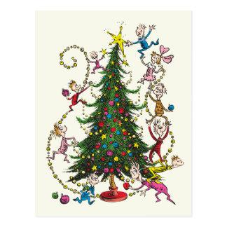 Klassieke Grinch | Kerstboom Briefkaart