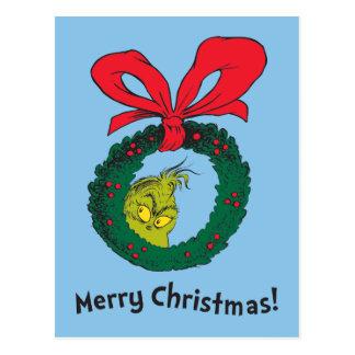 Klassieke Grinch   Kroon Briefkaart
