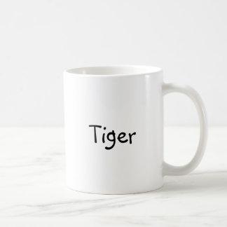 """Klassieke koffiemok met """"Tijger """""""