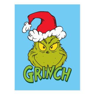 Klassieke Ongehoorzame Grinch   of Nice Briefkaart
