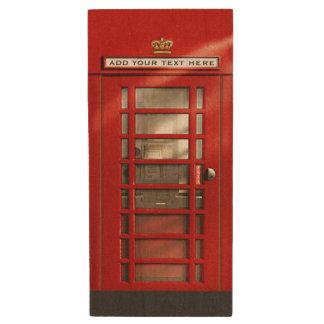 Klassieke Rode Britse Telefooncel