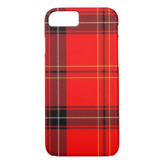 Klassieke Rode iPhone van het Patroon van de Plaid iPhone 8/7 Hoesje