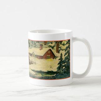 Klassieke scène Tomten Koffiemok
