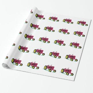 Klassieke Tractor Inpakpapier