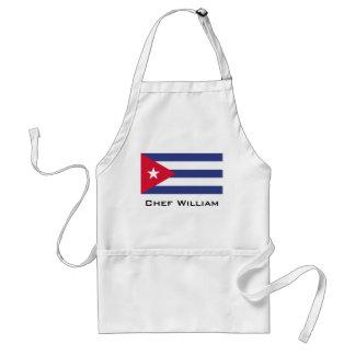 Klassieke Vlag van Cuba Standaard Schort