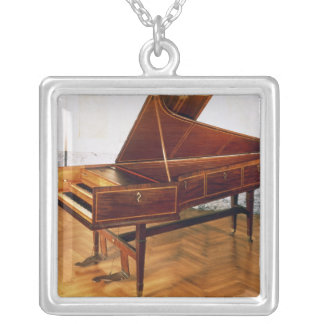 Klavecimbel die tot Franz Joseph Haydn behoren Zilver Vergulden Ketting