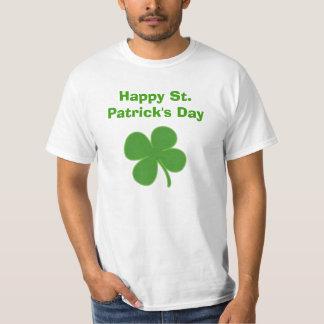 Klaver, Gelukkige St. Patrick Dag T Shirt