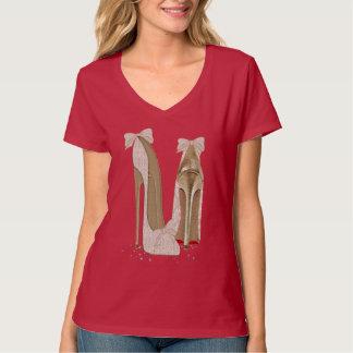 Kleding van de Kunst van de Hielen van de Stiletto T Shirt