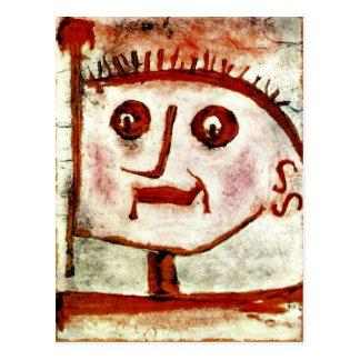 Klee - een Allegorie van Propaganda, 1939 Briefkaart