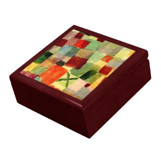 Klee - Waterverf met Donkergroen Kruis Decoratiedoosje