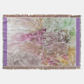 Kleed met abstracte kunst deken