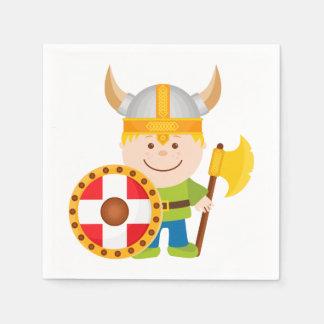 Klein Viking Wegwerp Servetten