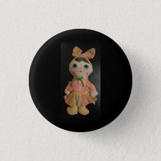 """Kleine 1 1/4"""" ronde knoop met pop ronde button 3,2 cm"""