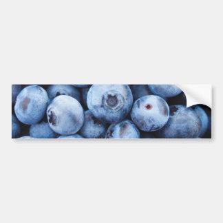Kleine Blauwe Bosbessen - de Druk van het Fruit Bumpersticker