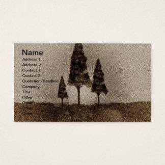 Kleine Bomen Visitekaartjes