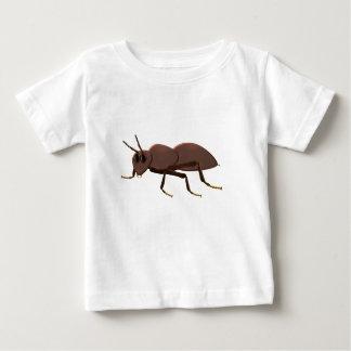 Kleine bruine mier baby t shirts