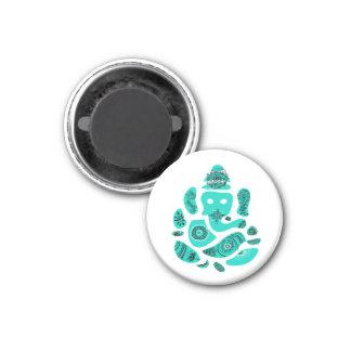 Kleine Ganesha, 3.2 Cm om Magneet