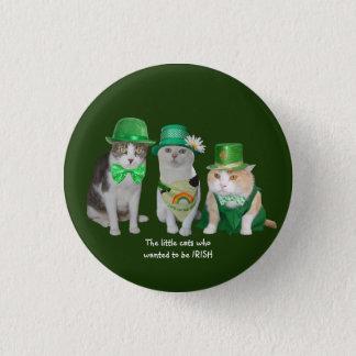Kleine Who van Katten wilde Iers zijn Ronde Button 3,2 Cm